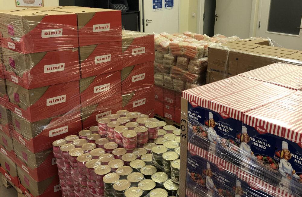Продуктовый банк: при сотрудничестве с Rimi мы сможем оказать помощь 1600 семьям по всей Эстонии