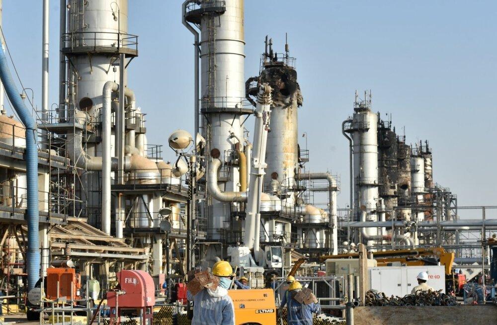 Naftatootmine Saudi Araabias.