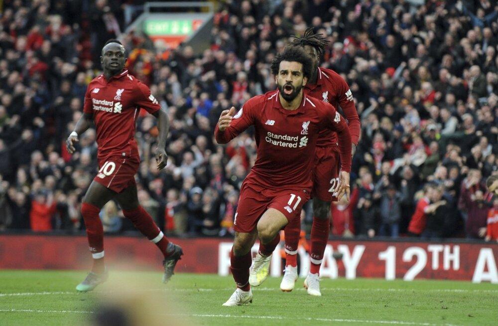 Liverpooli ründaja Mo Salah