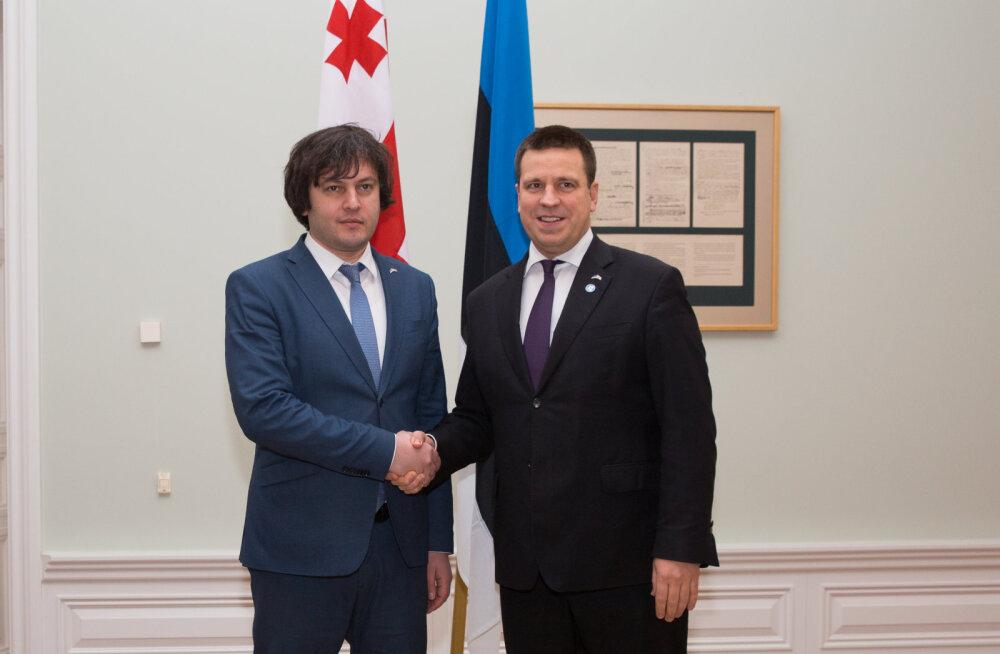 Ратас: Эстония поддерживает Грузию на пути в Европейский союз