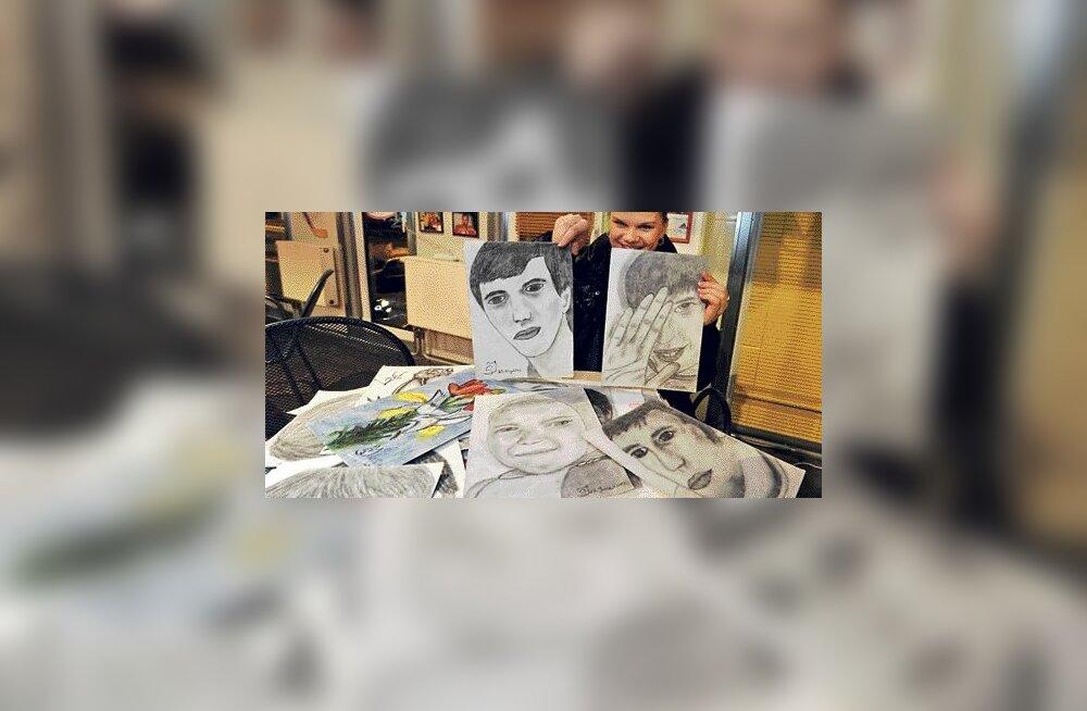 Tiitlivõistluste pjedestaalist unistav Svetlana Issakova joonistab vabal ajal portreesid