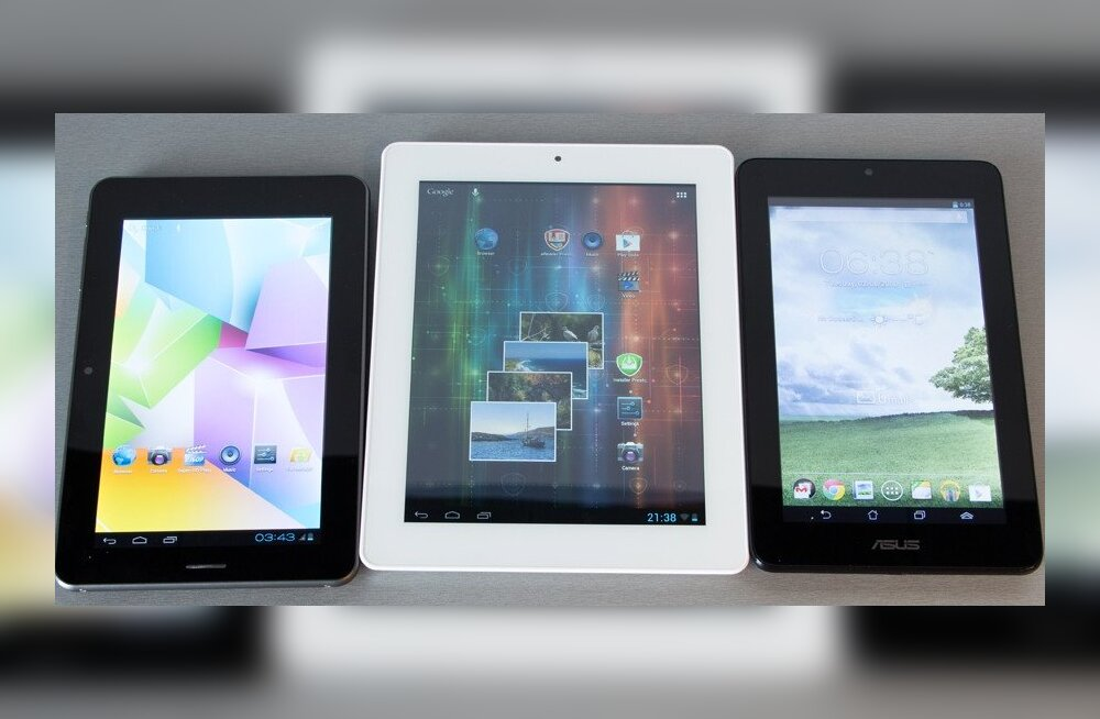 TEST: ASUS, Prestigio, Omega – kolm soodsat tahvelarvutit