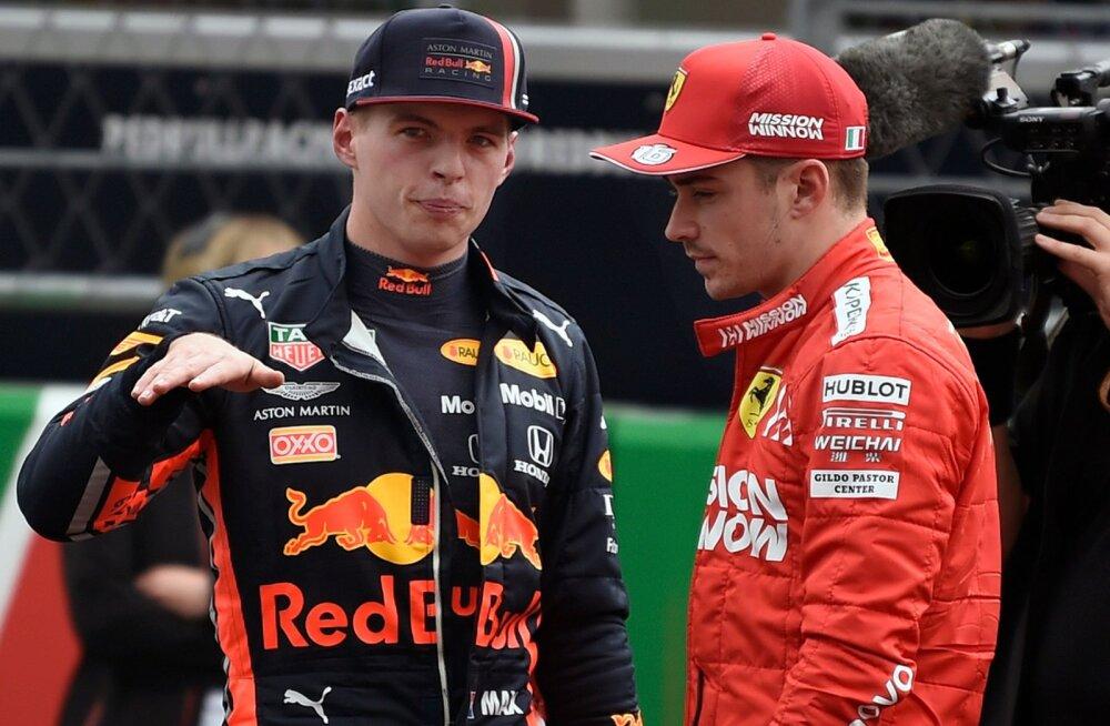 Brasiilia vormelilegend: Leclerc võib enne Verstappenit maailmameistriks tulla