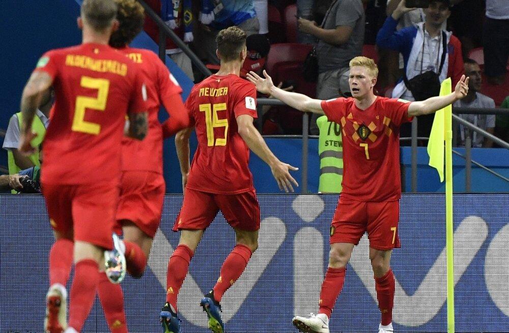 Pärast Belgia koondise võitu Brasiilia üle sai selgeks, et sel MM-il on poolfinaalides ainult Euroopa koondised.