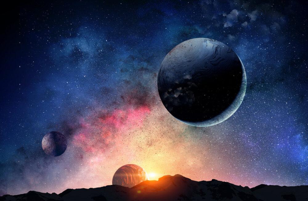 Planeetide liikumised ja mõjud jaanuaris