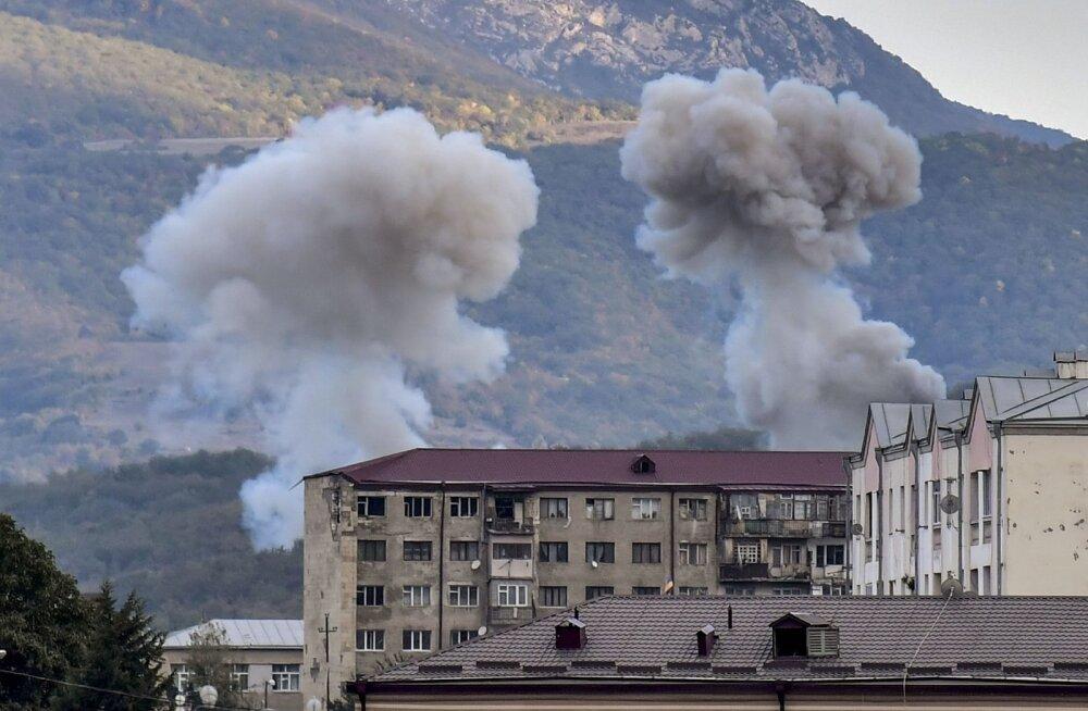 Азербайджанские войска прорвали и уничтожили линию соприкосновения между Азербайджаном и Нагорным Карабахом