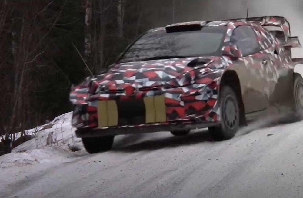 Toyota boss on rahul: meie uus WRC masin on juba peaaegu sama hea kui praegune