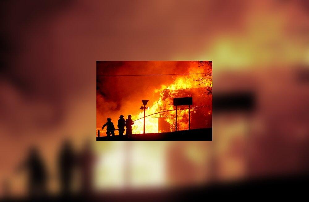 tuli, tulekahju, tuletõrjuja, põleng