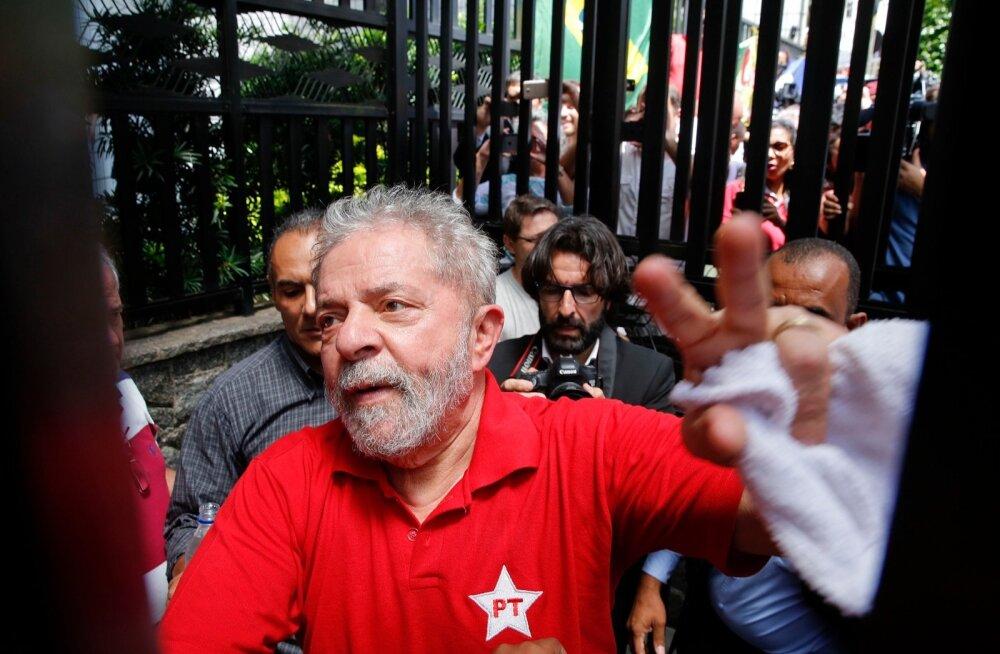 Brasiilia endisele presidendile esitati rahapesusüüdistus