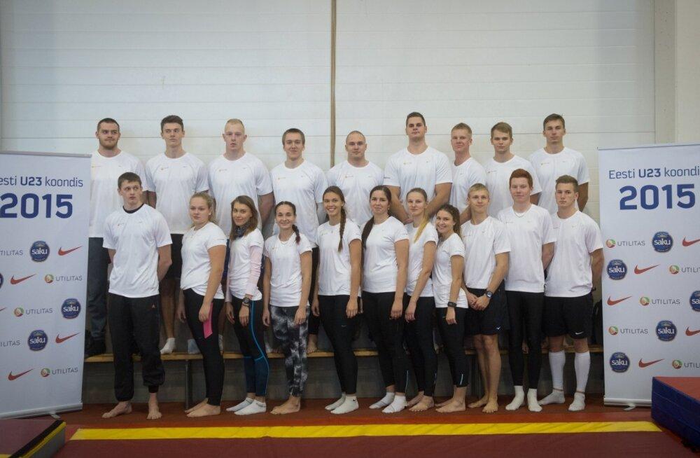 Eesti U23 kergejõustikukoondis