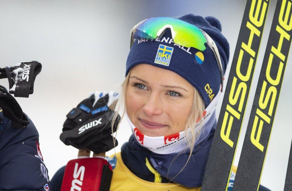 Rootsi noor suusatäht raskest hooajast: pidin põhjast alustama