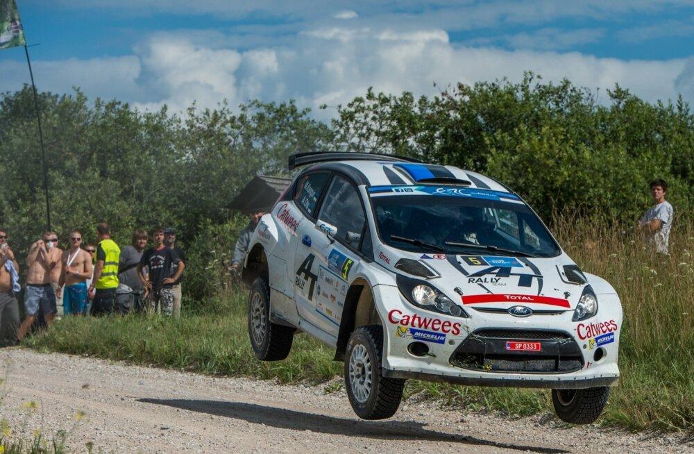 Rally Estonia 2014. 2.päev, esimene kiiruskatse