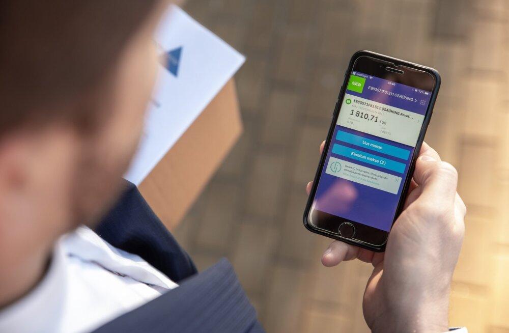SEB äriklentide mobiilirakendus