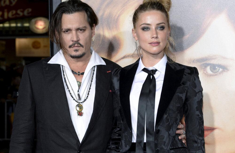 Johnny Depp skandaalsest eksnaisest: tal olid joonistatud sinikad