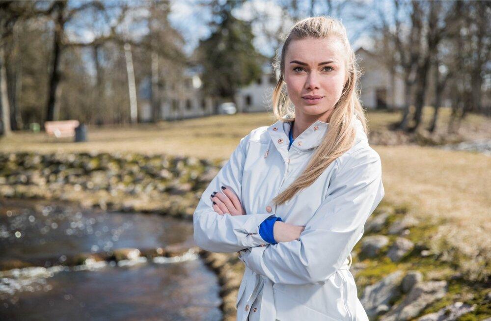 Saskia Alusalu on koos Norra koondisega harjutamisest vaimustuses.