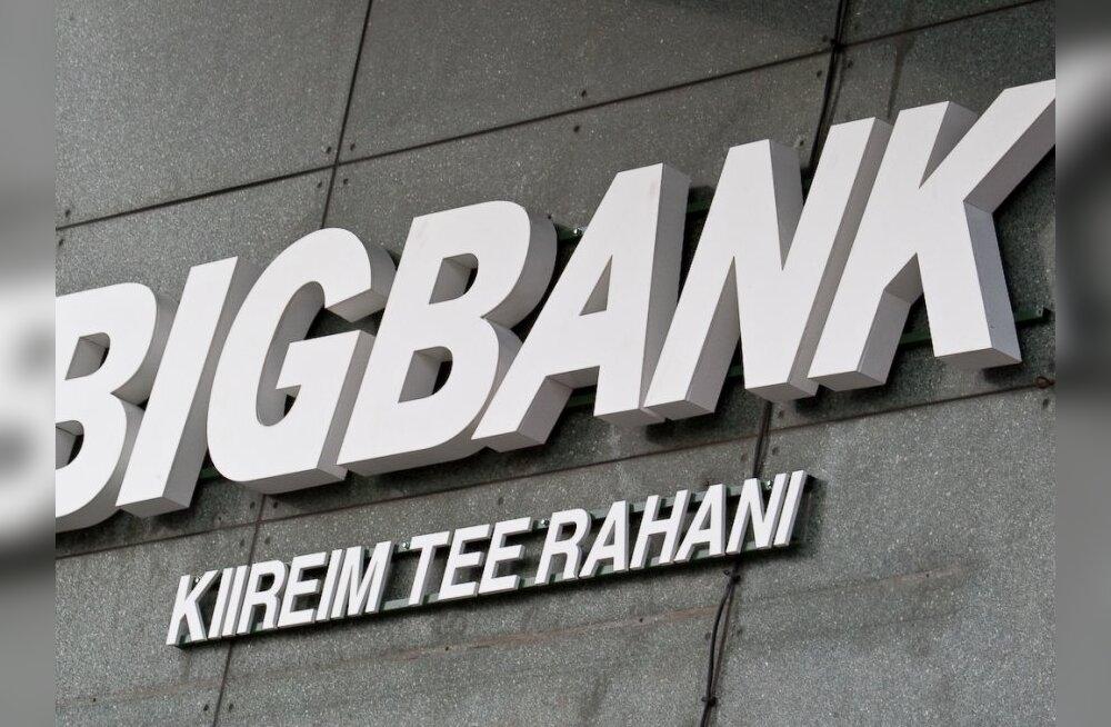 KredEx ja BIGBANK alustavad koostööd ettevõtete finantseerimisel