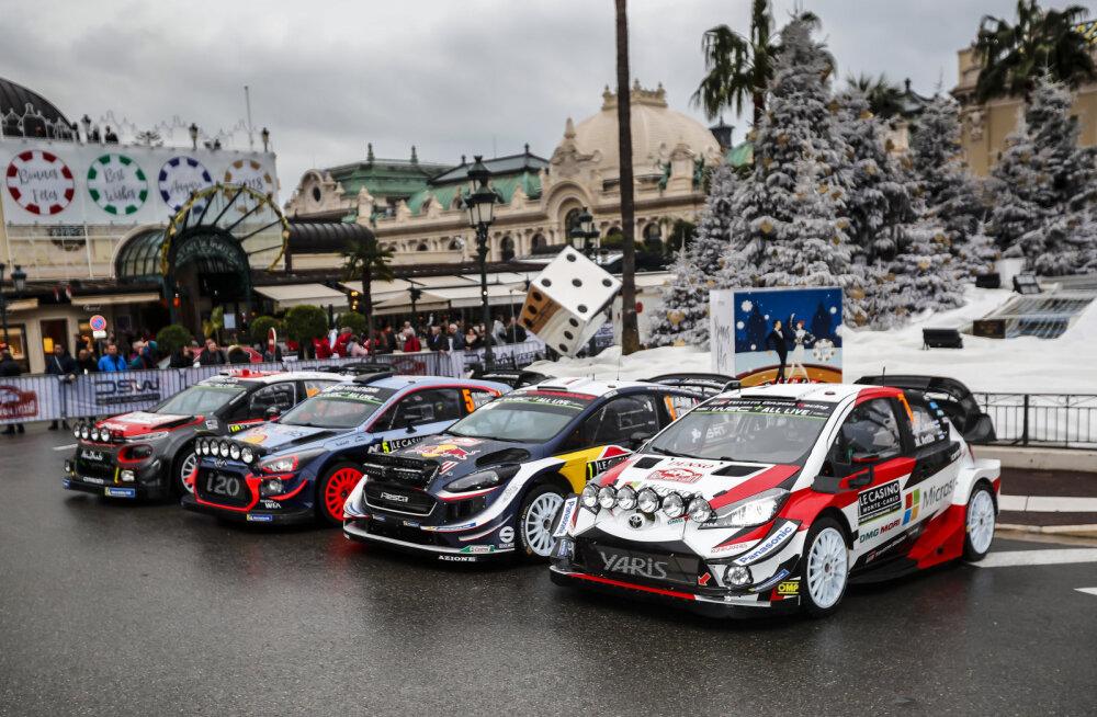 Monte Carlo ralli naaseb Monacosse