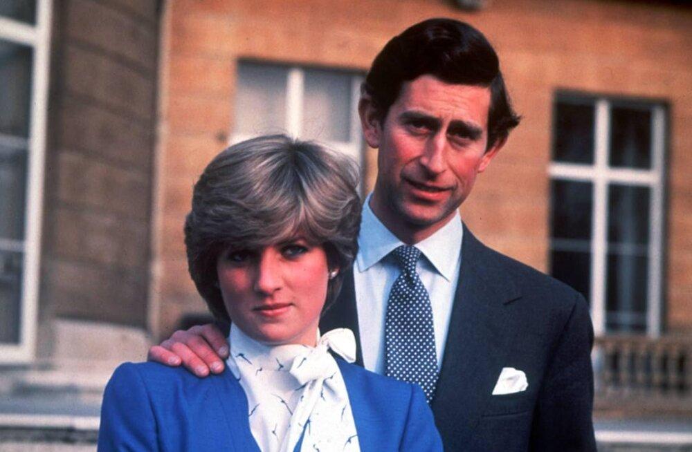 """Avalikkuse ette jõuavad skandaalsed videosalvestised printsess Diana armuelust: Charles tahtis """"seda"""" kord kolme nädala jooksul"""