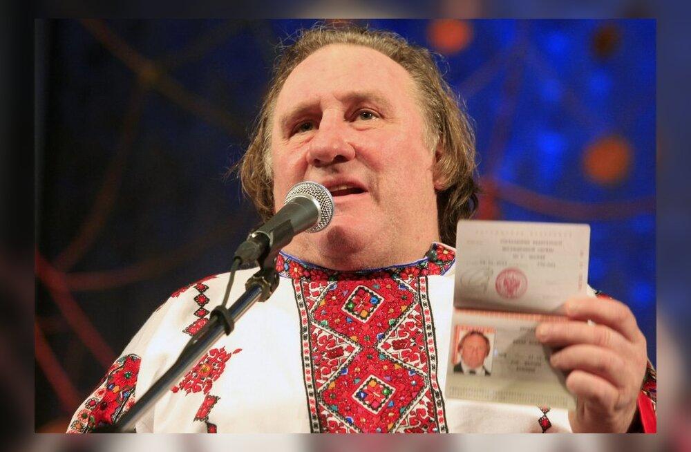Venemaa opositsioon kutsus Depardieud endaga Putini vastasele protestimarsile