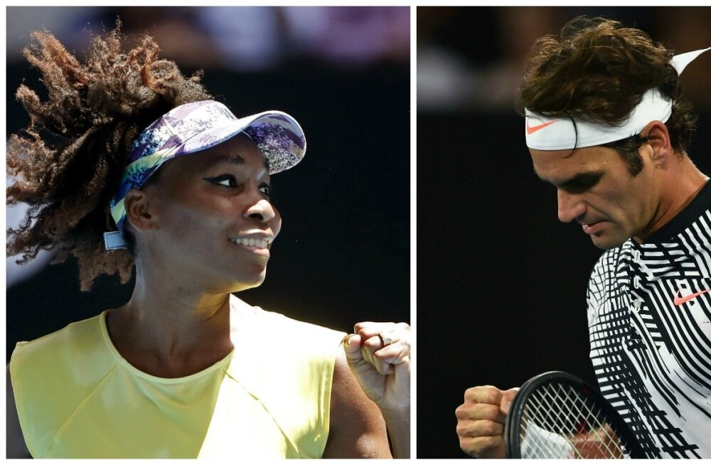 Venus Williams ja Roger Federer