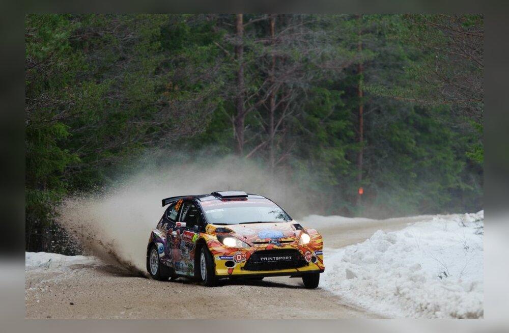 Rootsi ralli testikatse