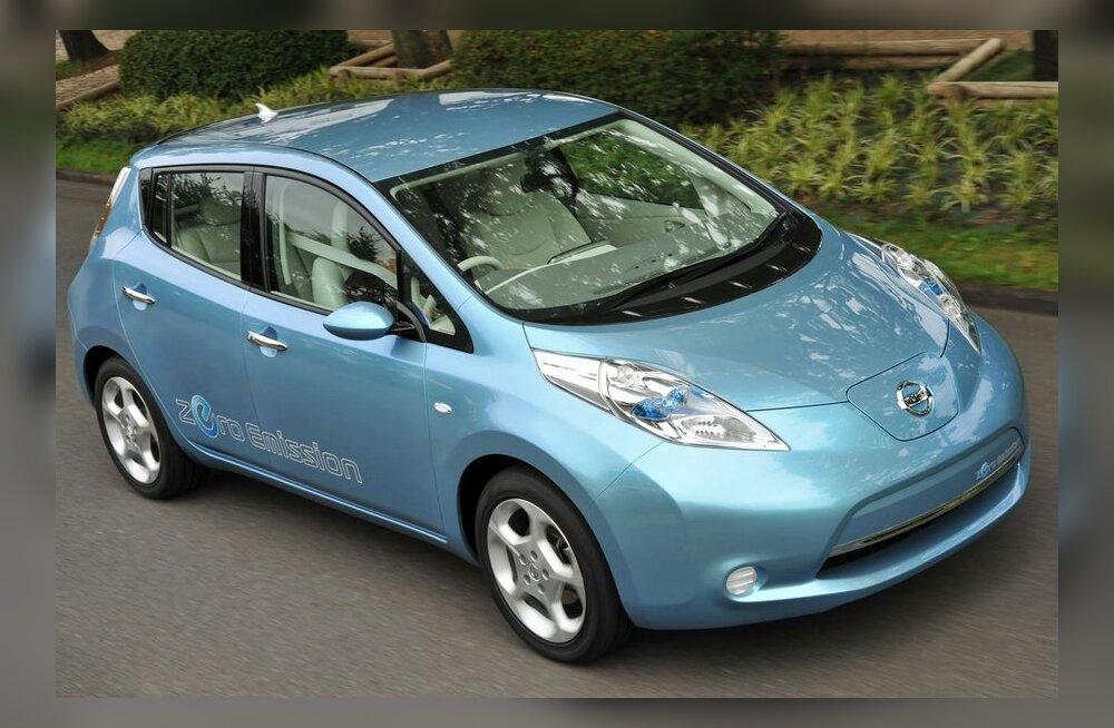 Selgus maailma aasta auto - elektrilise Nissan LEAFi hind Eestis