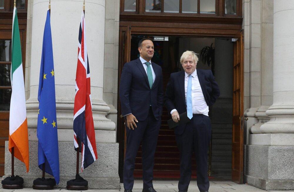 Johnson ütles kohtumisel Iiri peaministriga, et kokkuleppeta Brexit oleks läbikukkumine