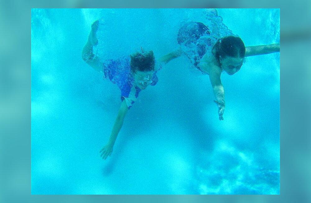 Mis takistab inimest vee all hingamast?