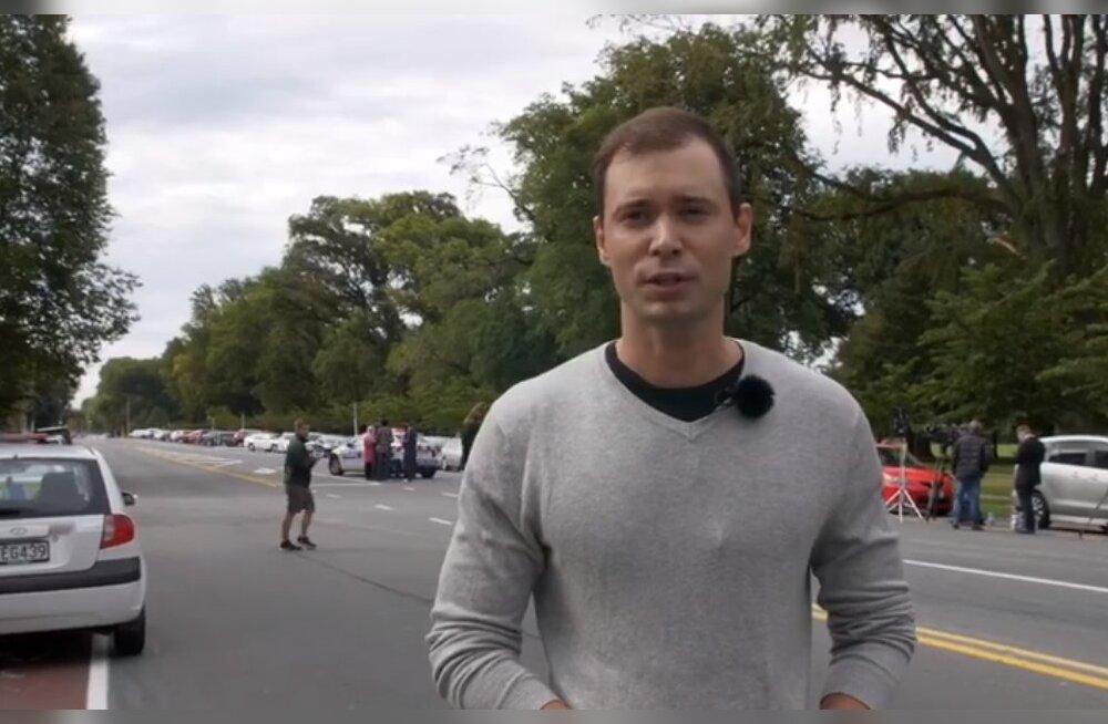 VIDEO | Eesti filmimehed olid Uus-Meremaa mošeetulistamise keskmes: siin on nagu sõjakoldes
