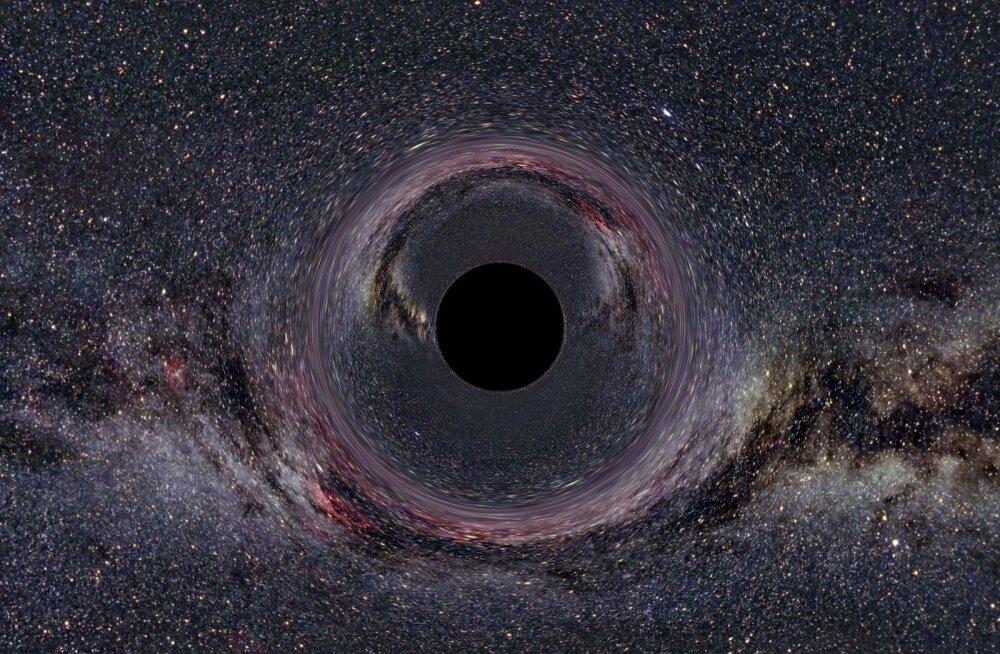 Teadlased püüavad mustade aukude kaja