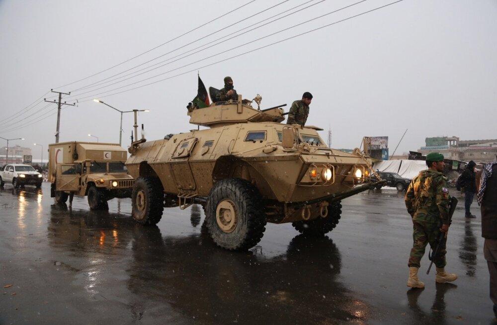 Kabulis rünnati sõjaväebaasi, vähemalt 11 sõdurit sai surma