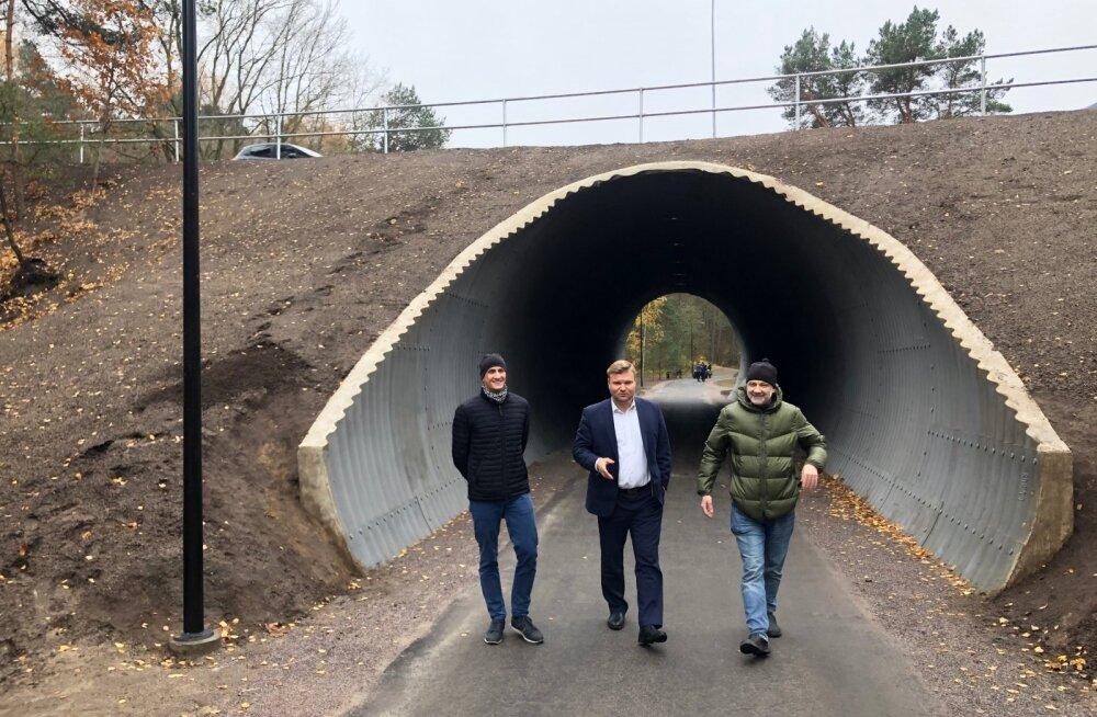 Лыжный тоннель на Эхитаяте теэ открыт