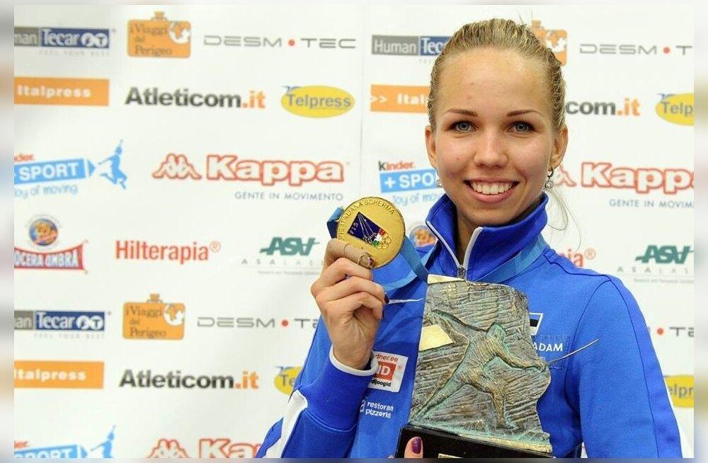 Erika Kirpu teenis elu esimese MK-etapi võidu, tema naiskonnakaaslastel pole sellist saavutust ette näidata.