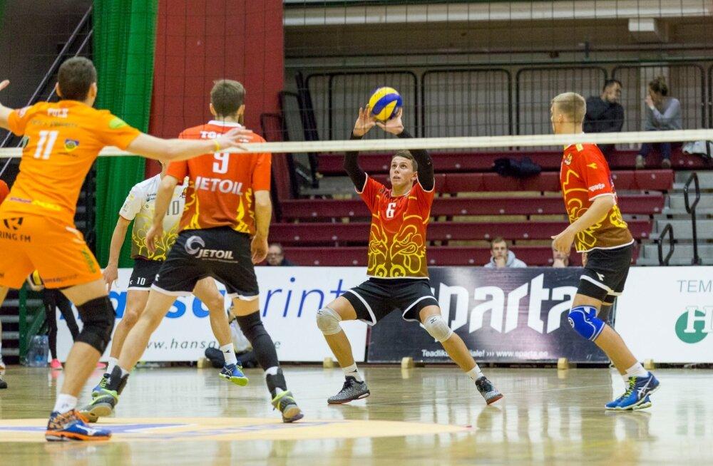 Selver-Pärnu võrkpall