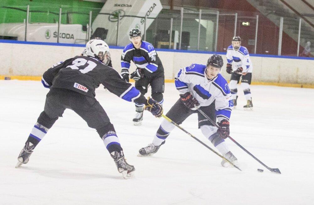 Eesti jäähokikoondise treeningmäng