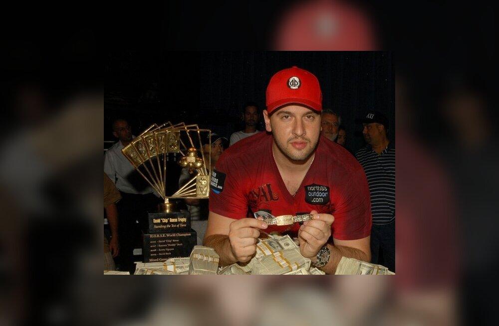 Pokkeri MMi tiitlivõitja Mizrachi jäi napilt ilma teisest võidust