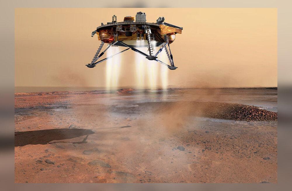 """""""Pealtnägija"""": astrofüüsik hellitab lootust Marsi-lennust"""