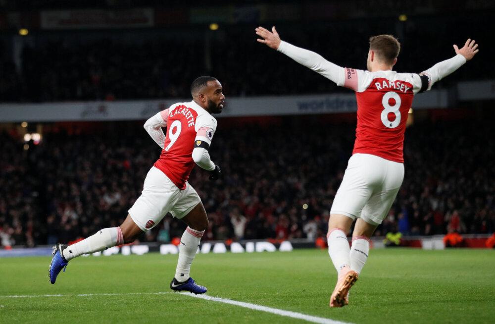 VIDEO   Arsenali ja Liverpooli põnevuslahingus võitjat ei selgunud