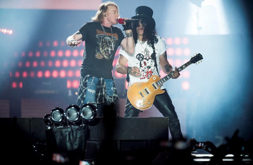 Lennukis urineerimisest Nirvanaga tülitsemiseni ehk ansambli Guns N' Roses kõige skandaalsemad seigad läbi aegade