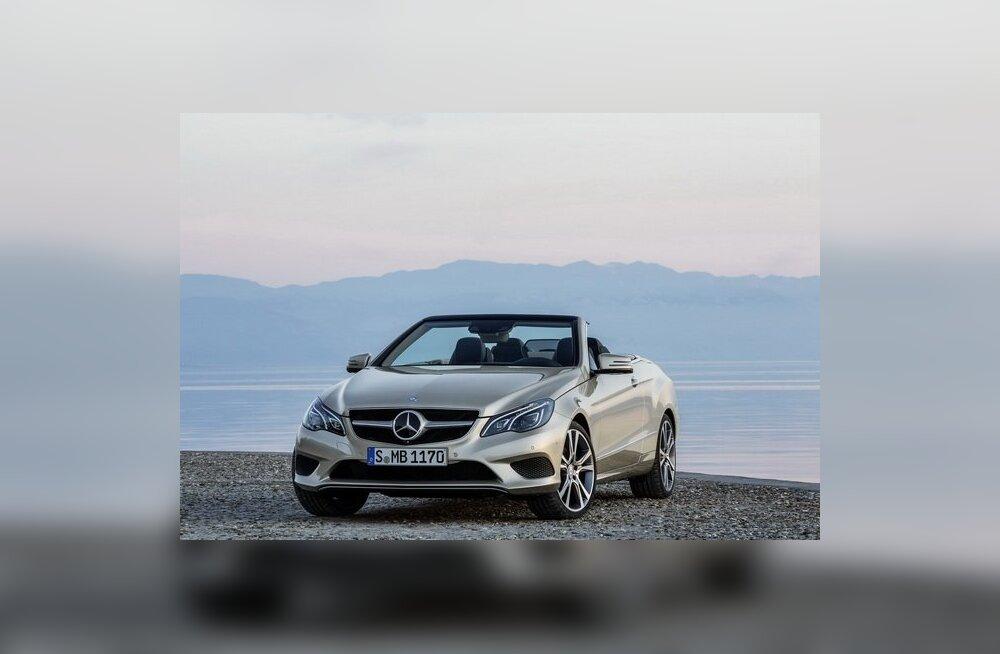 Mercedes-Benz uuendas E-klassi kupeed ja kabrioletti