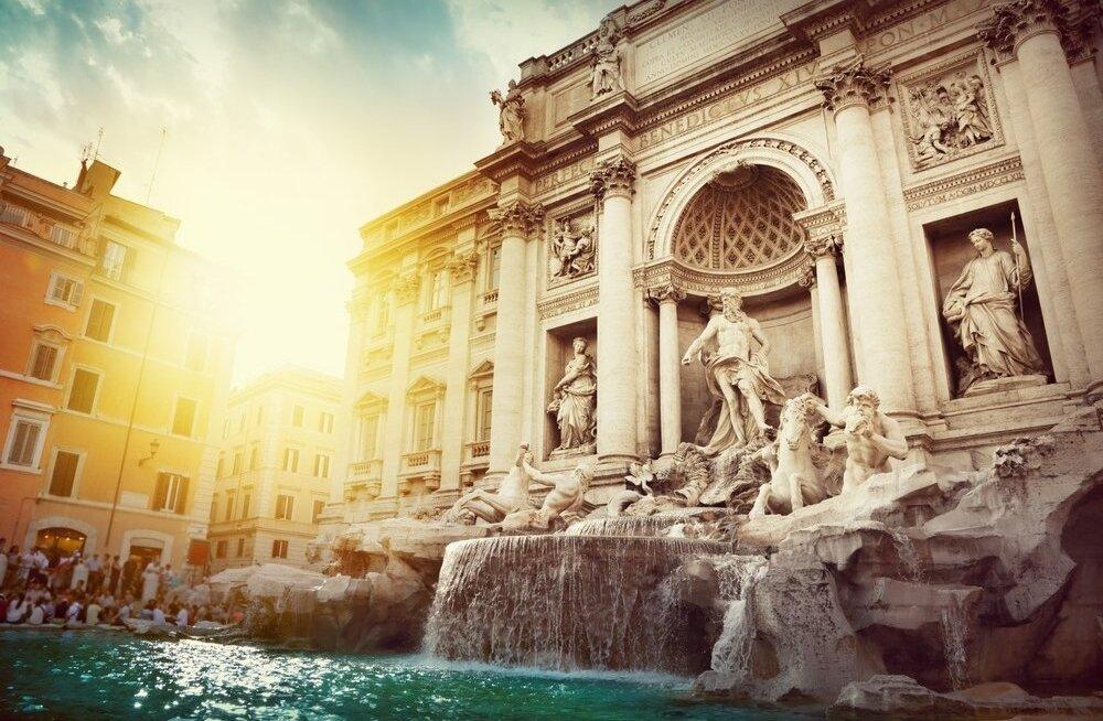 Trevi purskkaev Roomas