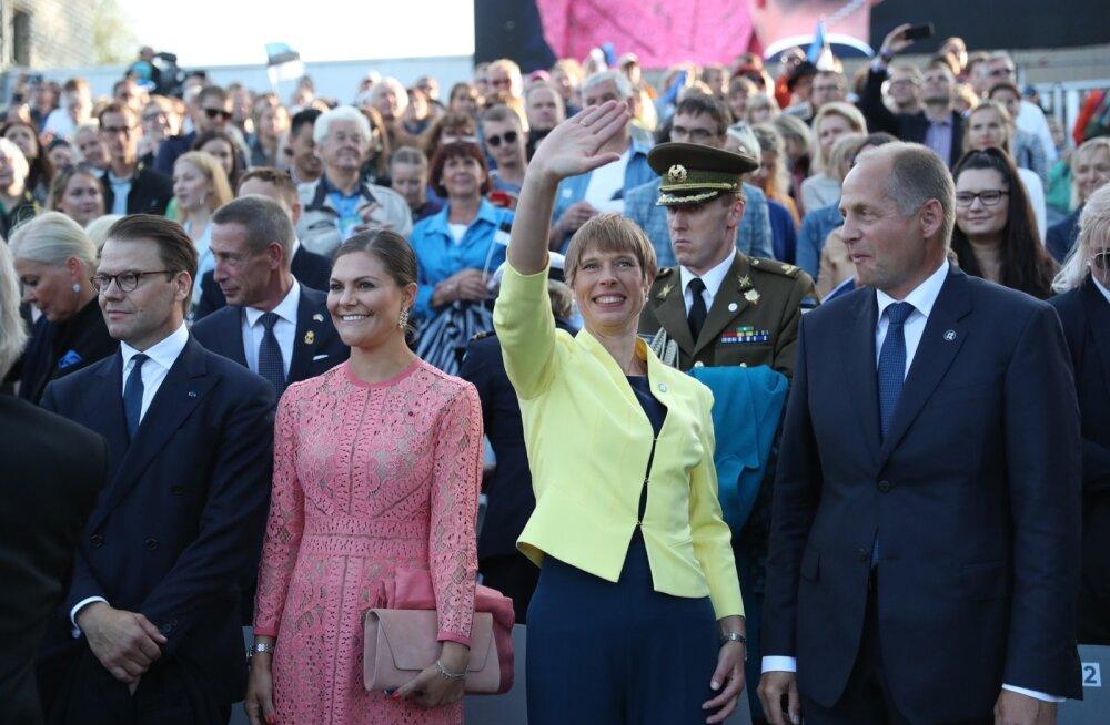 VIDEO | President avalikustas, mis oli Rootsi kroonprintsessi Victoria lemmiklaul Üheslaulmisel