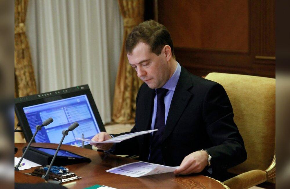 Medvedev vabastas ametist kümme siseministeeriumi kindralit