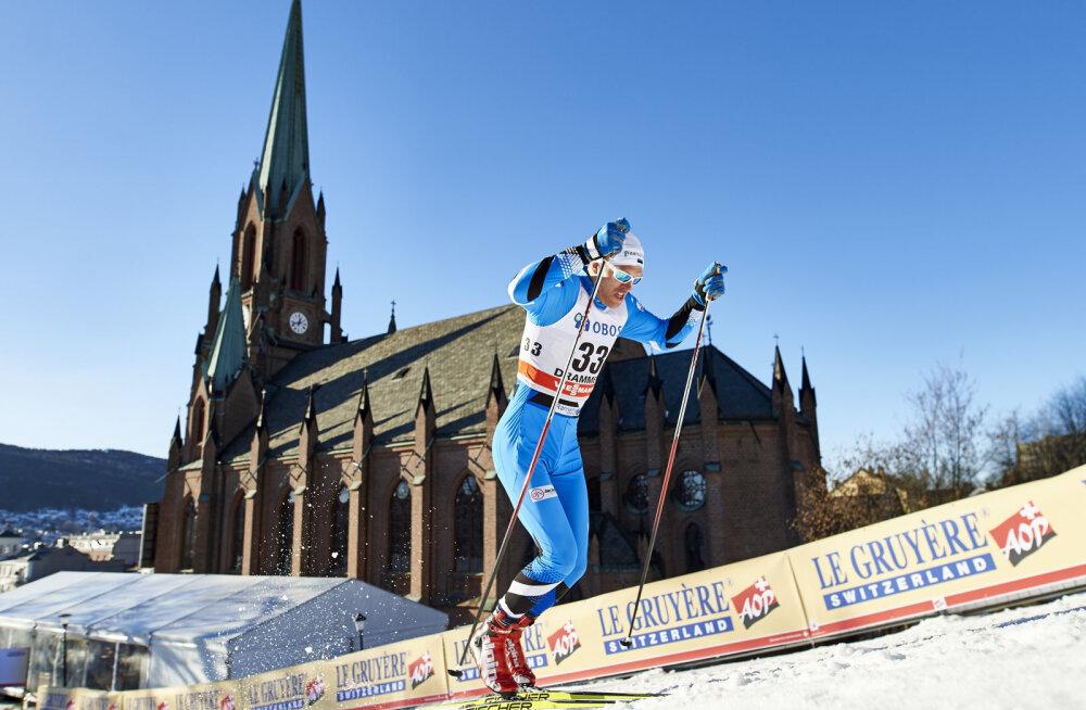 Jälle tühjad pihud! Eesti suusasprinterid ei pääsenud ka Drammenis punktidele