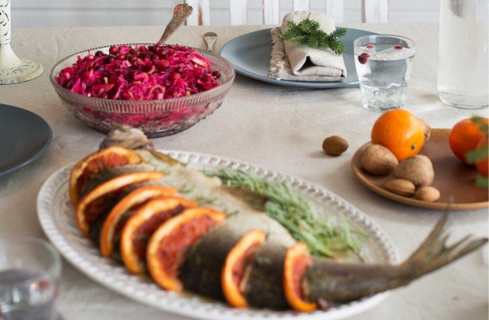 36def2faa9d RETSEPTID   Suupisted, praad, siider ja mõnus kook: lookas ja ahvatlev  jõululaud sobib