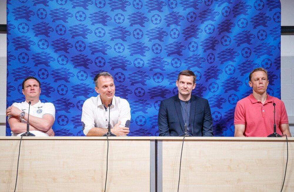 Eesti Jalgpalliliidu pressikonverents