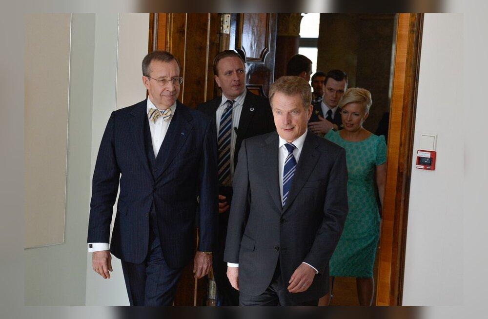 President Ilves läheb täna töövisiidile Soome