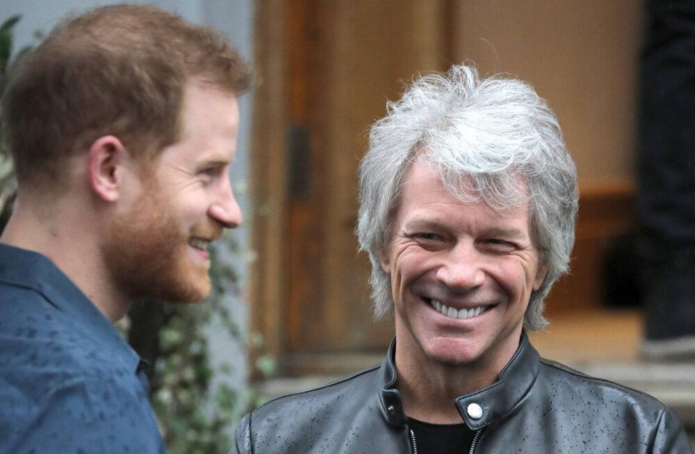 Koos prints Harryga laulu lindistanud Jon Bon Jovi: tal läheb suurepäraselt!