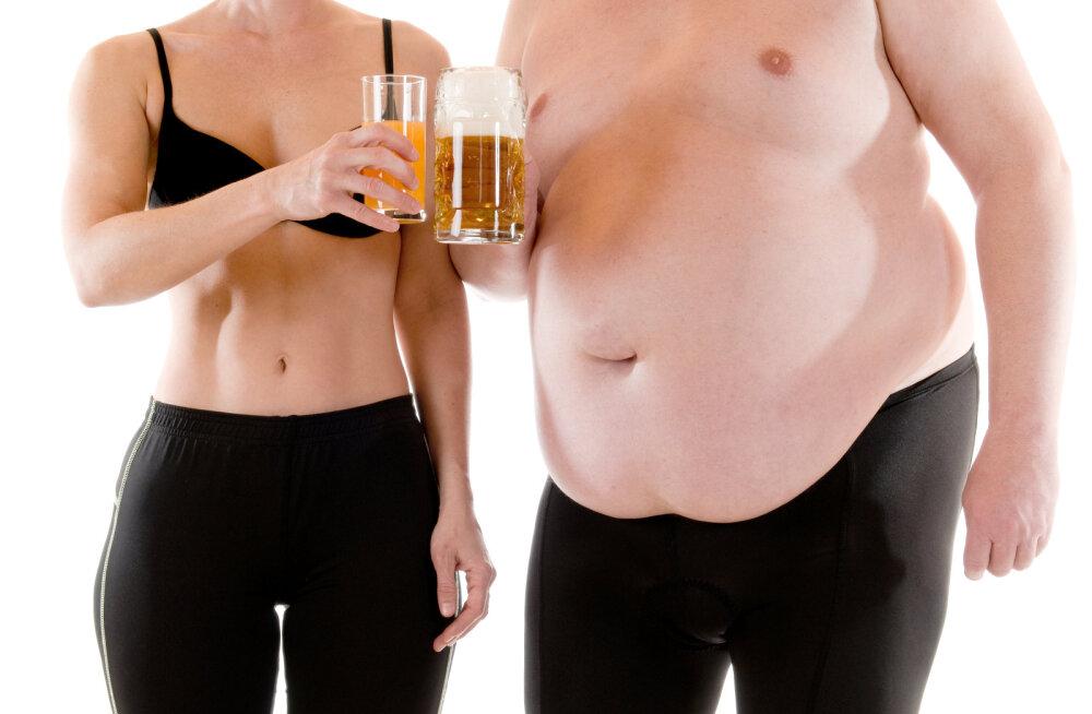 Mehed, kuulake! Mis põhjustab õllekõhtu ja kuidas sellest lahti saada?