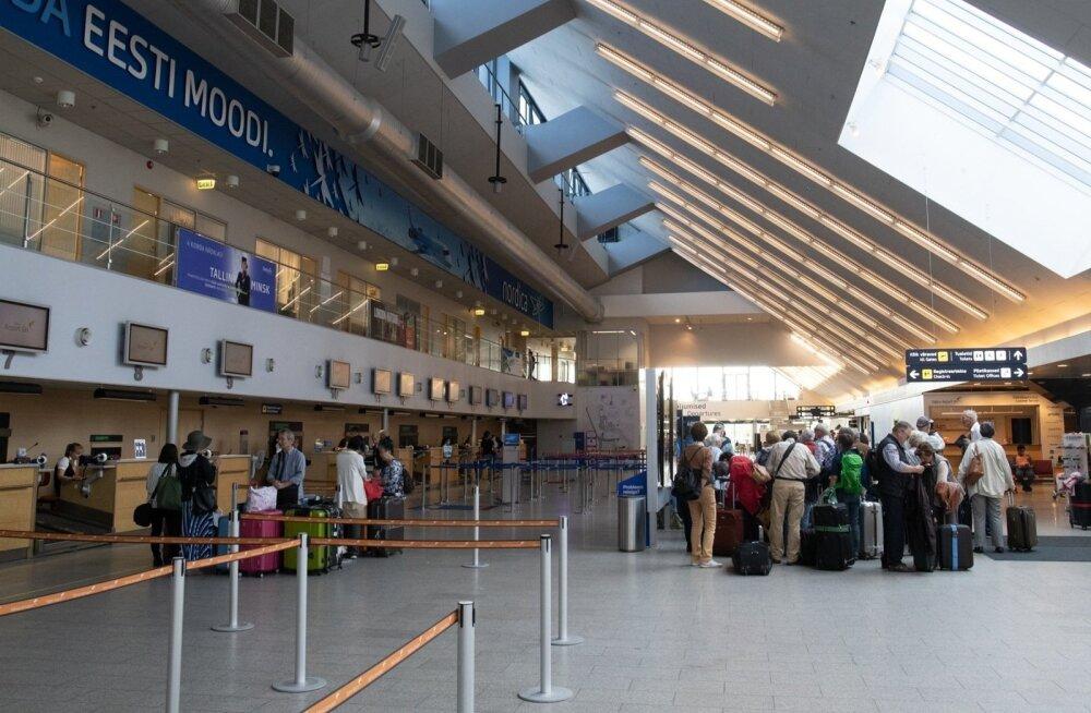 Ограничение на открытие авиалиний из Эстонии продляется на две недели